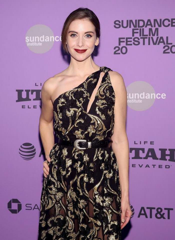 Alison Brie at Horse Girl Premiere at Sundance Film Festival in Park City
