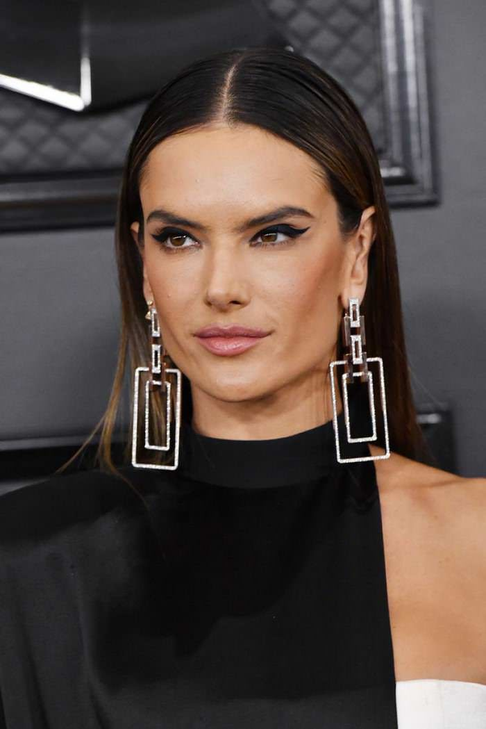 Alessandra Ambrosio at 2020 GRAMMY Awards at Staples Center in Los Angeles