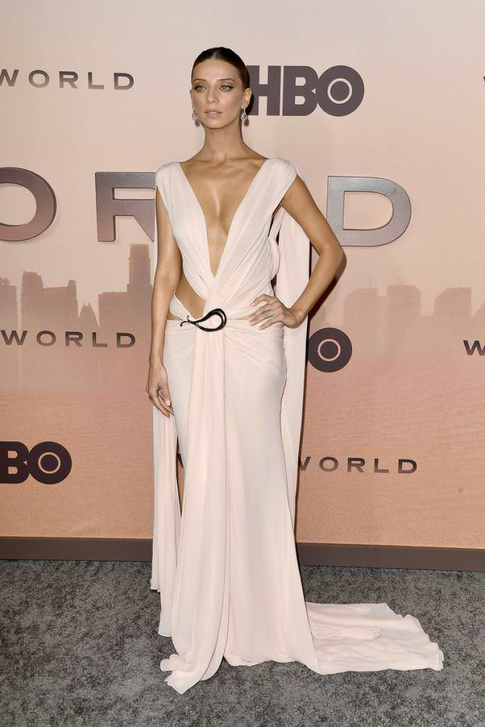 Angela Sarafyan at Westworld Season 3 Premiere in Hollywood