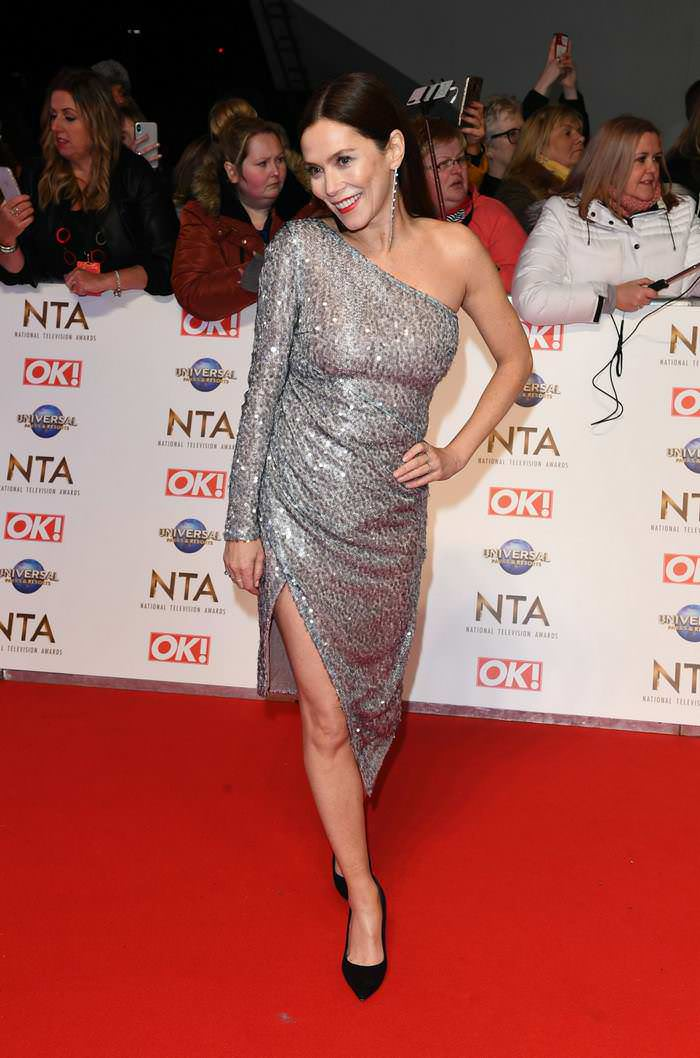 Anna Friel Attends 2020 National Television Awards in London
