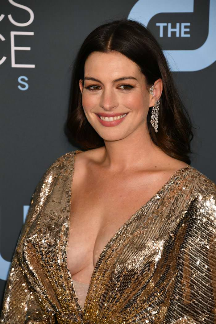Anna Hathaway at Critics Choice Awards 2020 in Santa Monica