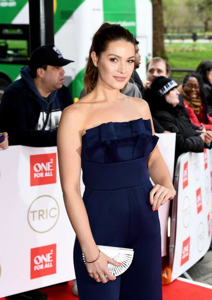 Anna Passey at TRIC Awards at the Grosvenor House Hotel