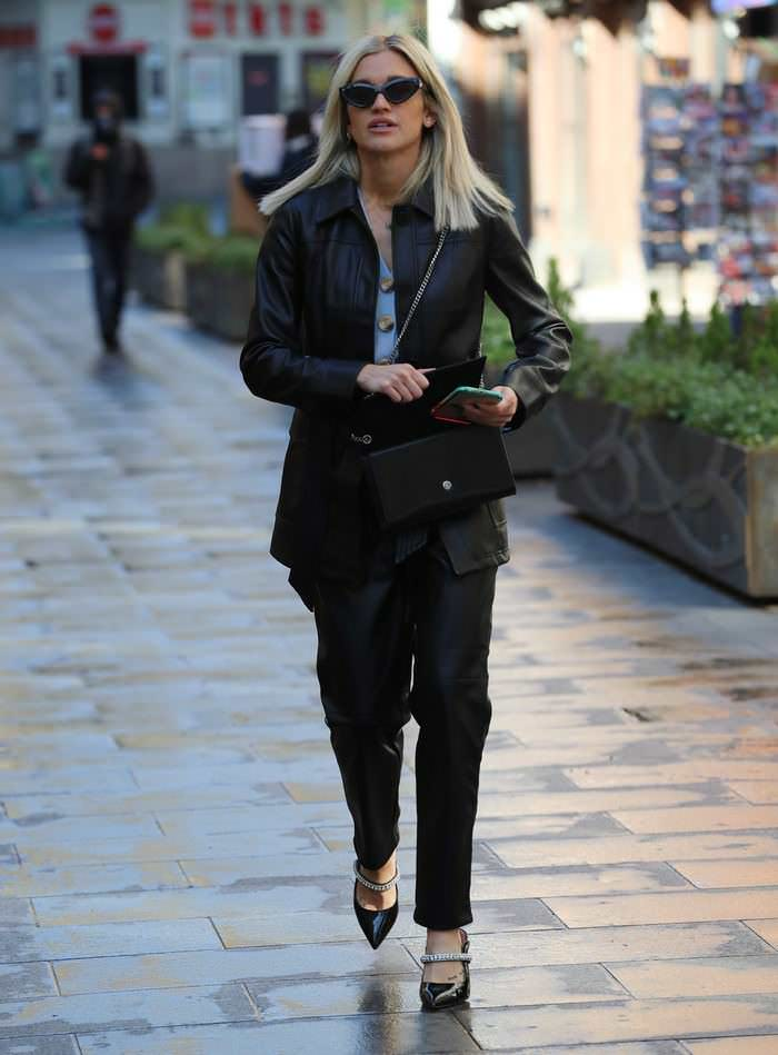 Ashley Roberts Leaving Global Radio in London