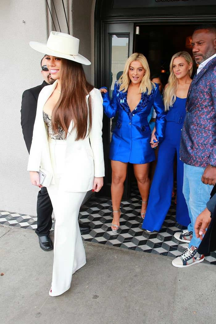 Bebe Rexha Leaving Women in Harmony Luncheon in West Hollywood