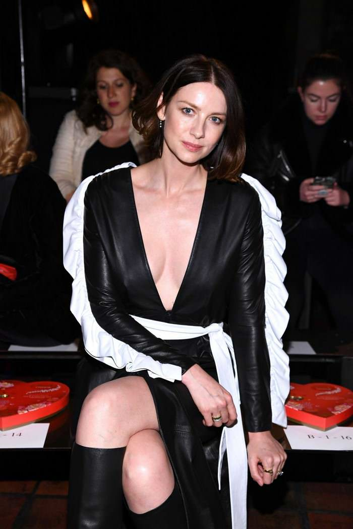 Caitriona Balfe at Rodarte Fashion Show in New York