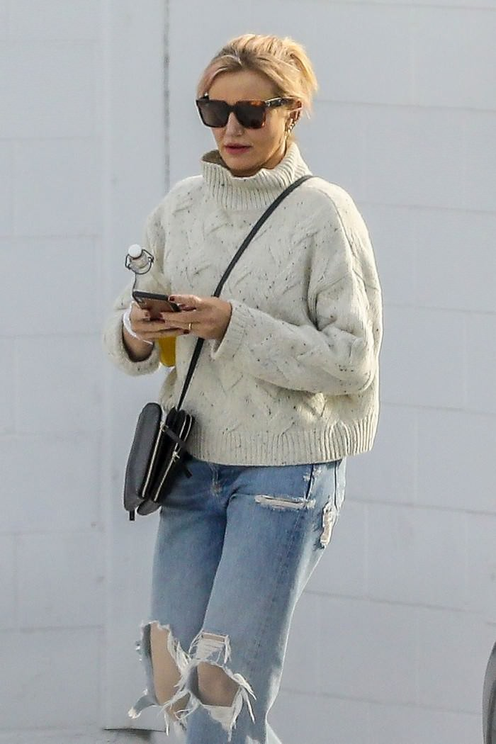 Cameron Diaz Leaves After a Medical Check-up in Santa Monica, CA