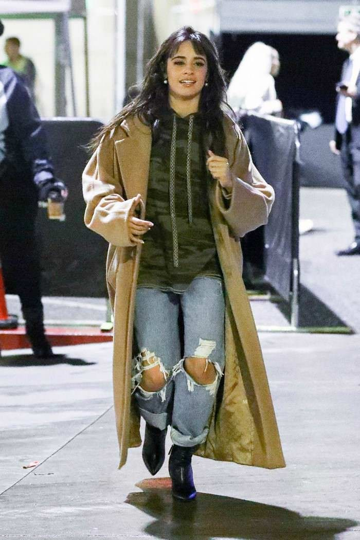 Camila Cabello Leaving Jingle Ball in Inglewood