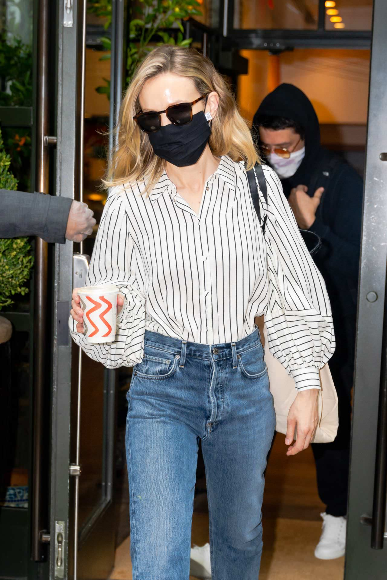 Carey Mulligan Casually in Jeans as she Steps Out in NY