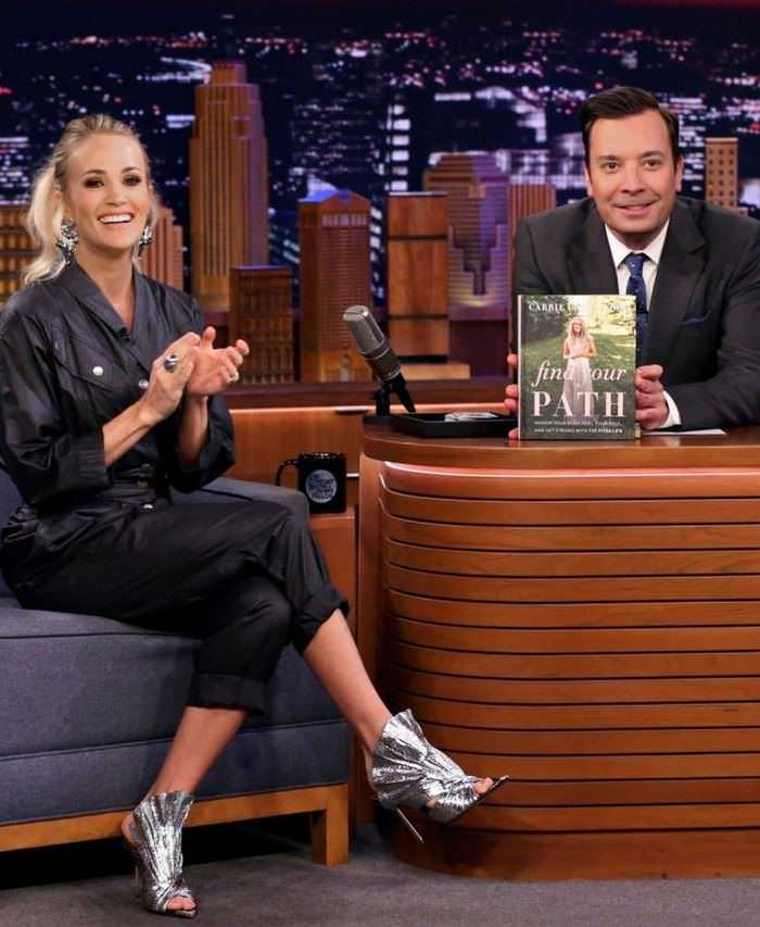 Carrie Underwood at The Tonight Show Starring Jimmy Fallon