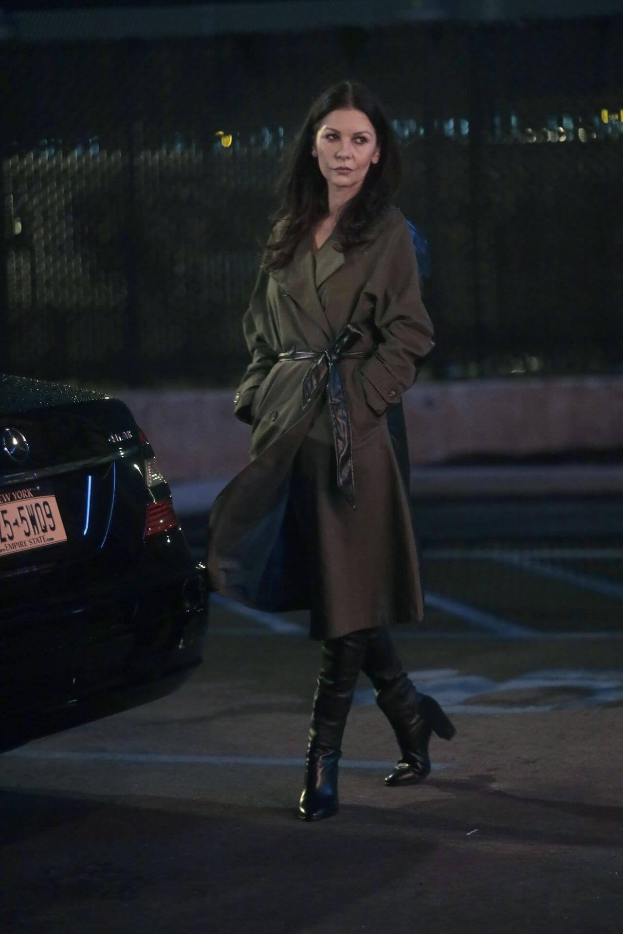 "Catherine Zeta-Jones at the ""Prodigal Son"" Set in New York"