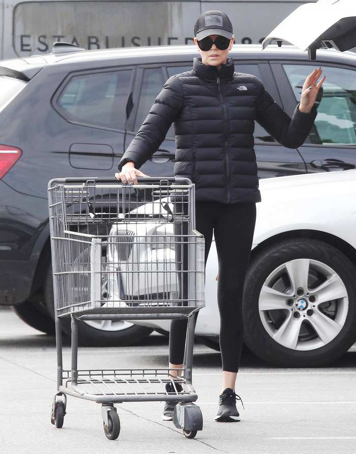 Charlize Theron Stepped Out for a Quick Trip to the Grocery Store