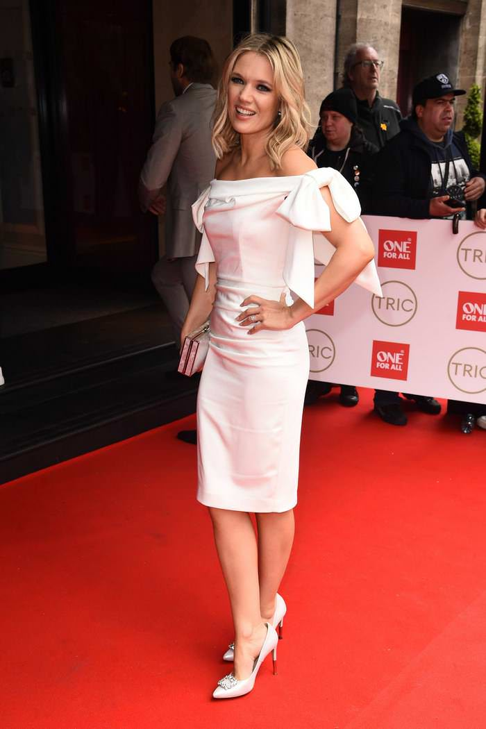 Charlotte Hawkins at TRIC Awards 2020 in Amba Hotel Grosvenor