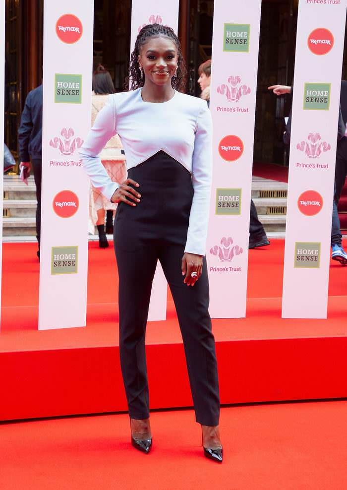 Dina Asher-Smith at The Prince's Trust Awards 2020