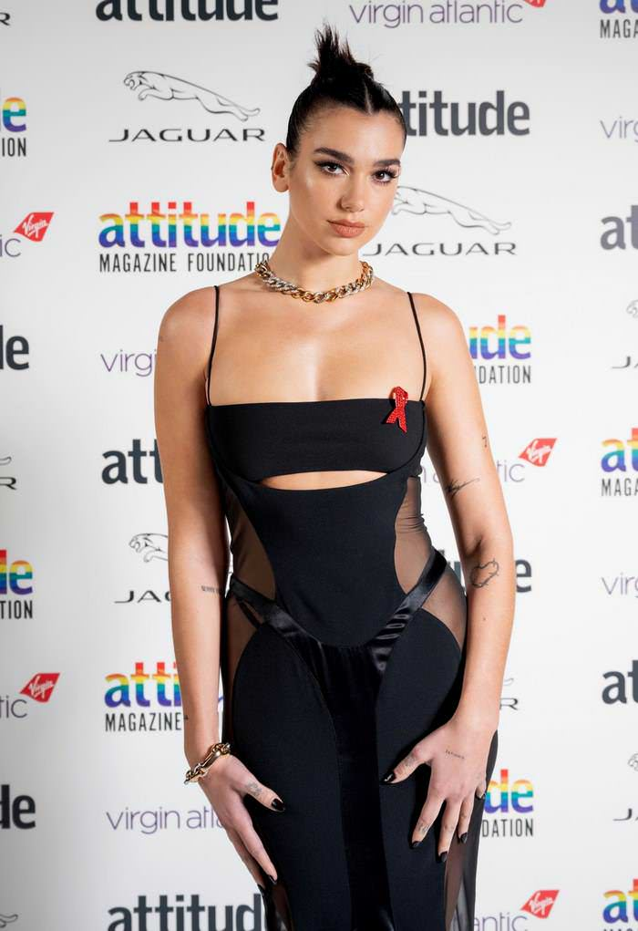 Dua Lipa at the First-Ever Virtual Ceremony of Virgin Attitude Awards 2020