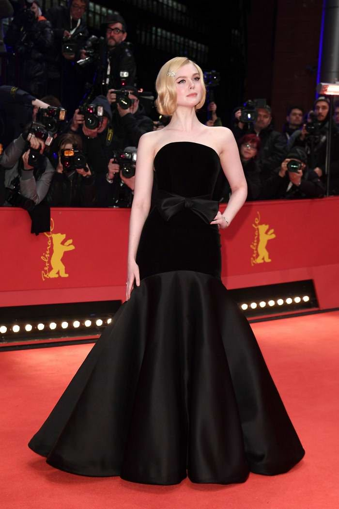 "Elle Fanning at ""The Roads Not Taken"" Premiere at Berlinale Film Festival"
