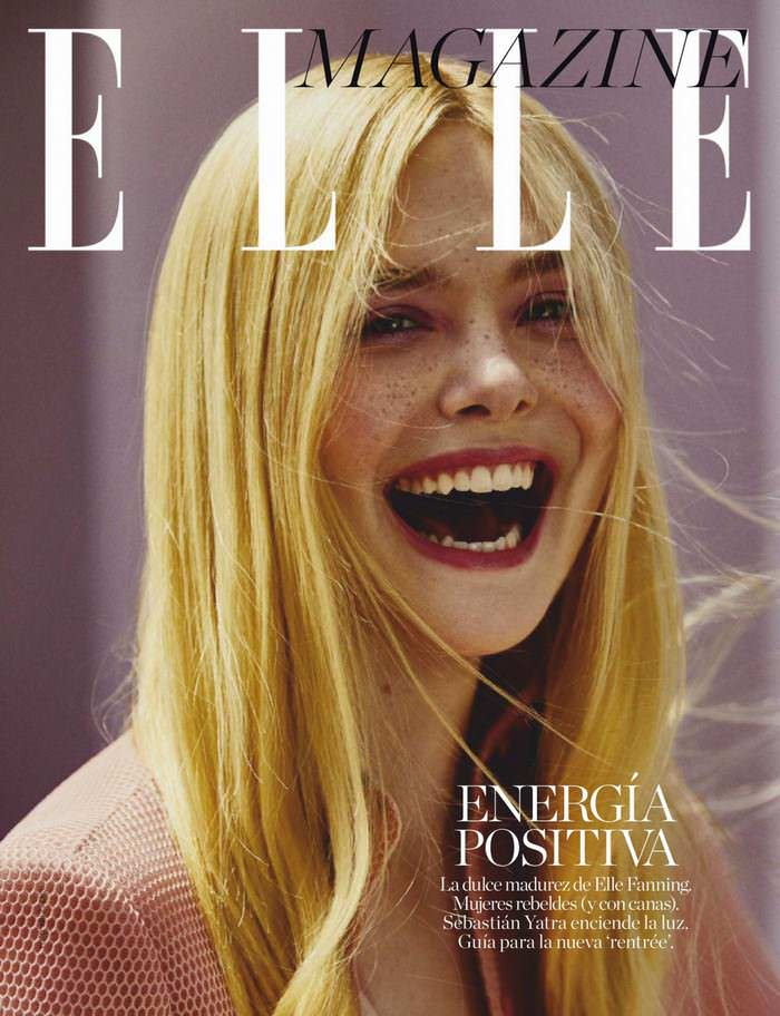 Elle Fanning on the Cover of ELLE Spain June 2020 Issue