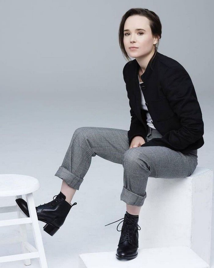 Ellen Page Openly Comes Out as a Transgender Male Elliot Page