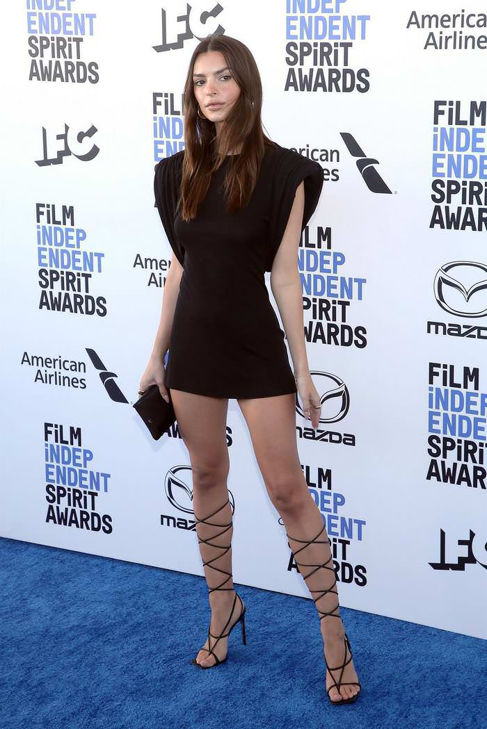 Emily Ratajkowski at Film Independent Spirit Awards in Santa Monica