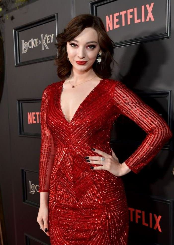 Emma Dumont Attends Netflix's Locke & Key Series Premiere in Hollywood
