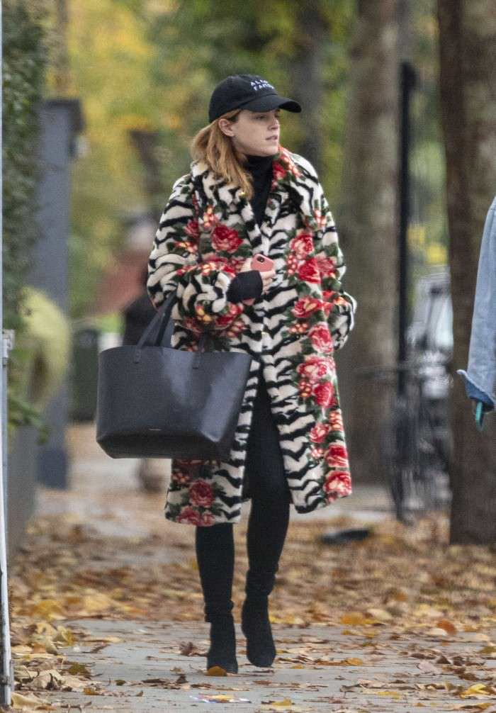 Emma Watson Autumn Style & Out in London