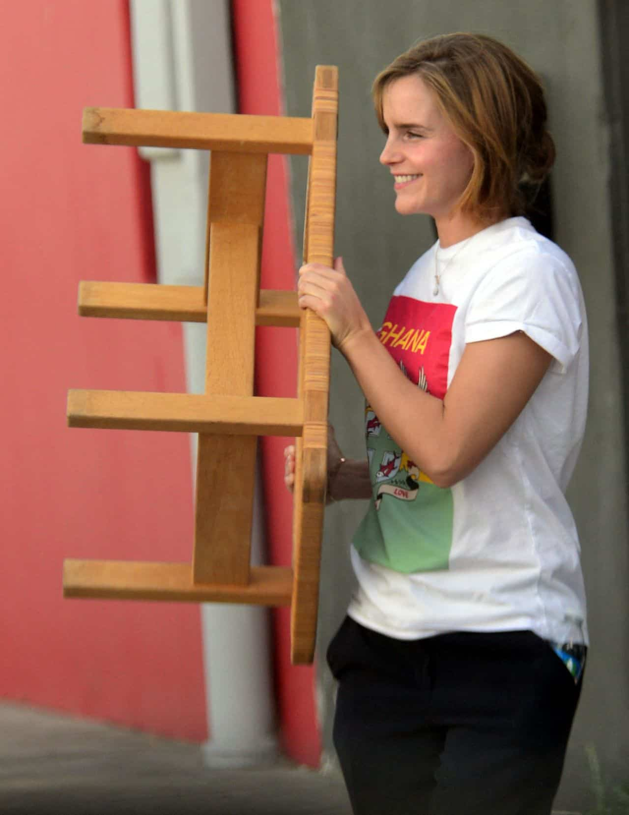Emma Watson Furniture Shopping in West Hollywood