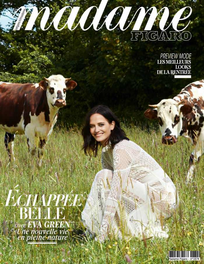 Eva Green on the Cover of the July Issue of Madame Figaro Magazine