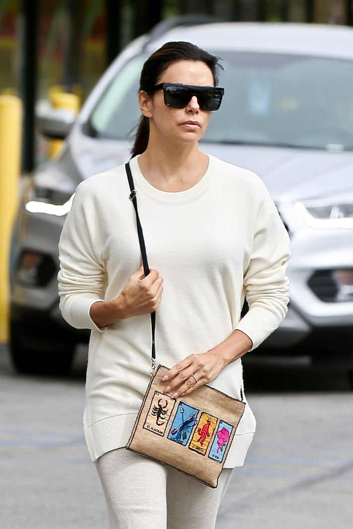Eva Longoria Shopping at Jo-Ann Store in Sherman Oaks