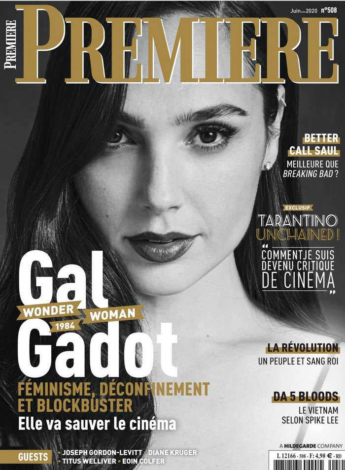 Gal Gadot on the Cover of the June Issue of Premiere Magazine