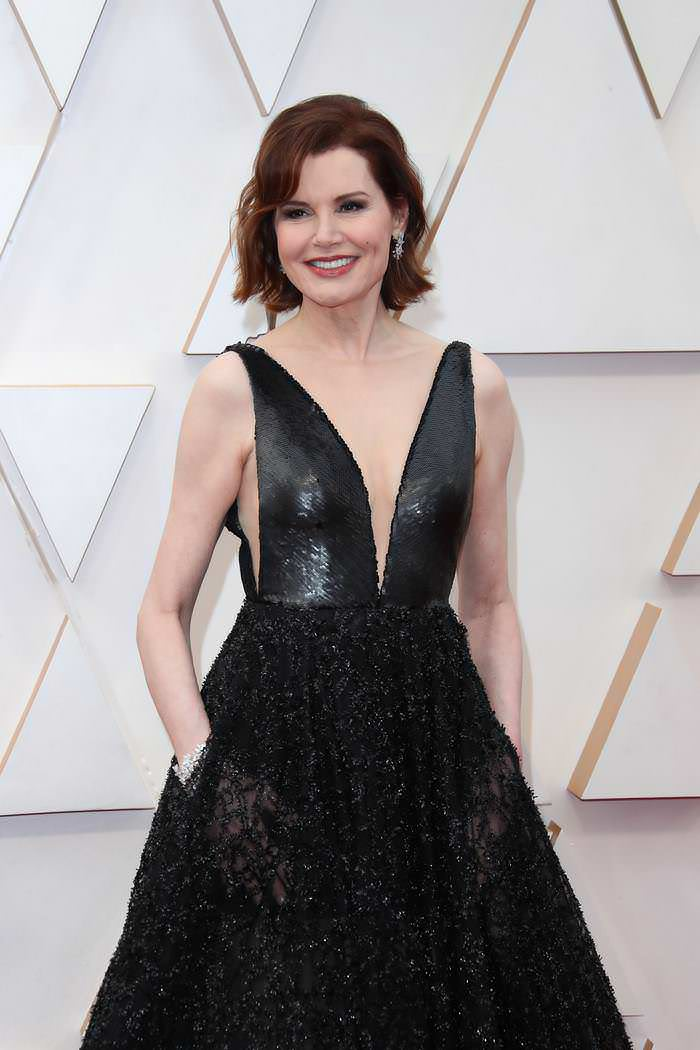 Geena Davis at 92nd Annual Academy Awards