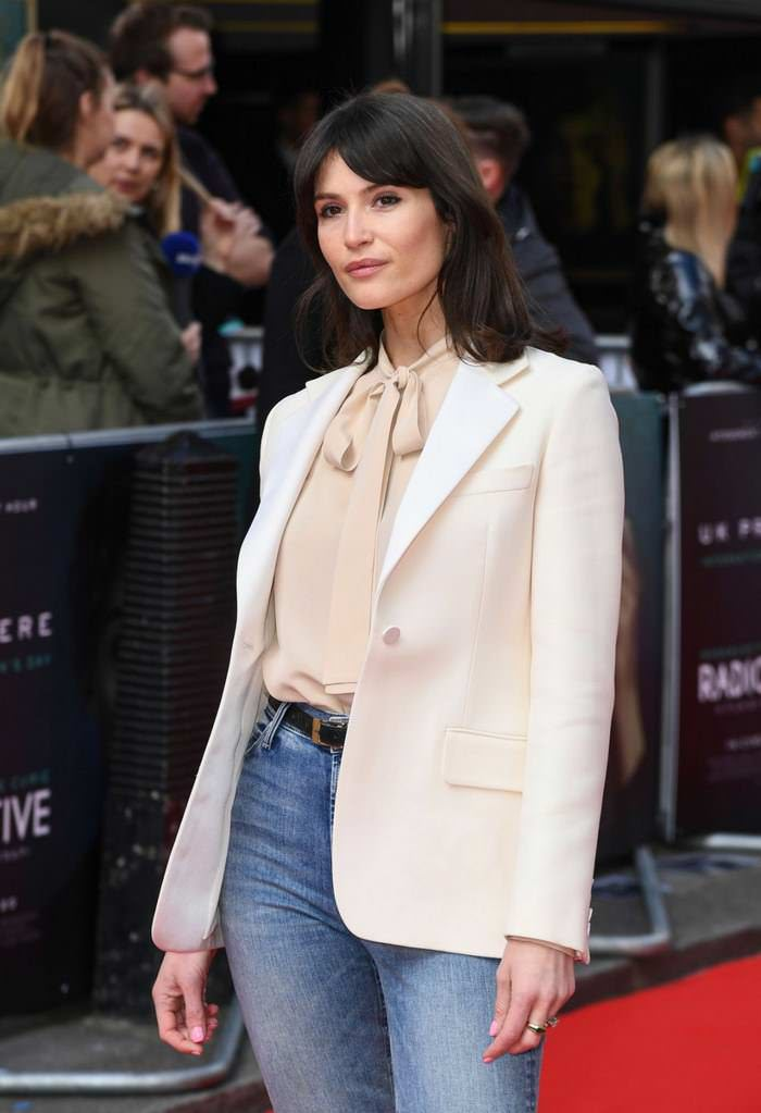 "Gemma Arterton at ""Radioactive"" Premiere in London"