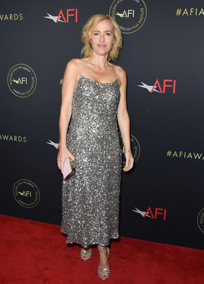 Gillian Anderson at 20th Annual AFI Awards