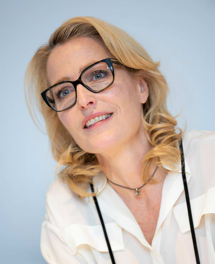 Gillian Anderson at The Crown TV Show Photocall in London
