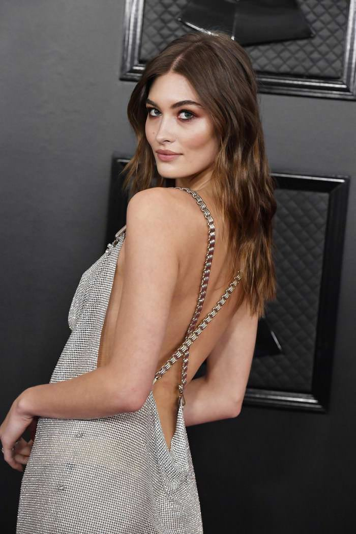 Grace Elizabeth at 62nd Annual GRAMMY Awards at Staples Center in LA