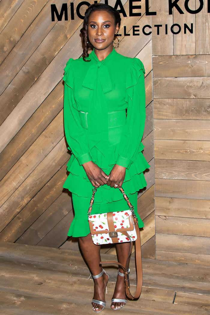 Issa Rae at Michael Kors Fashion Show in New York