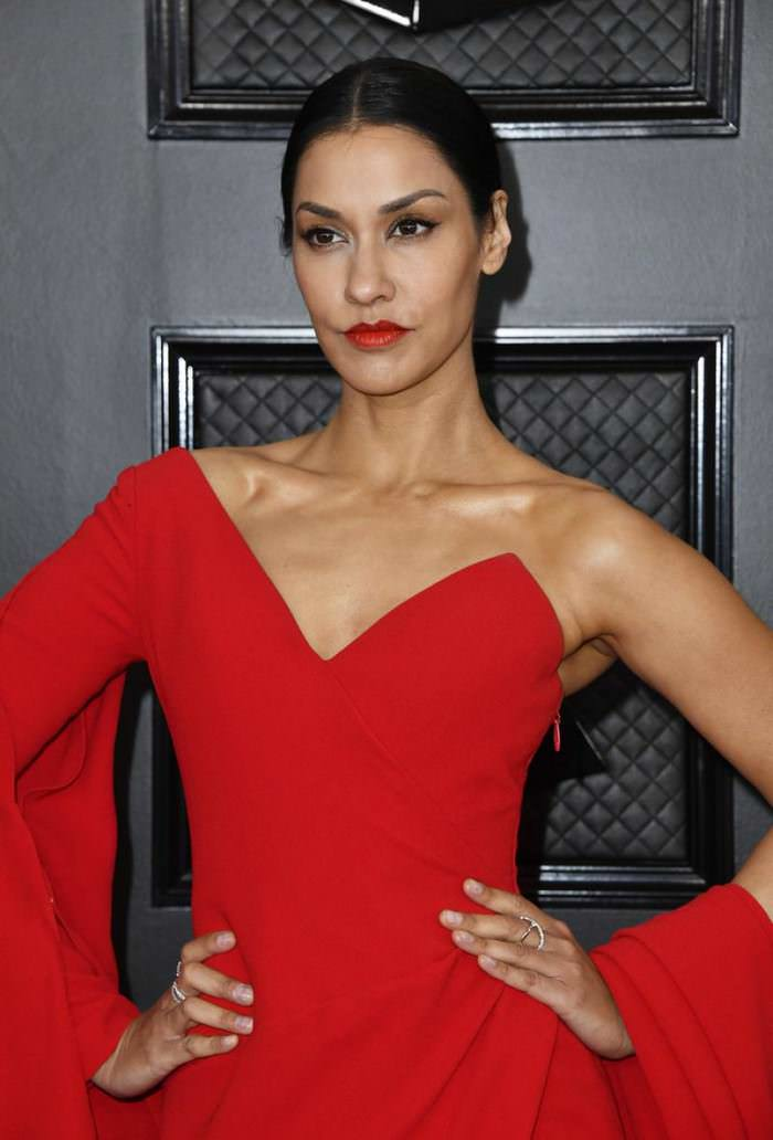 Janina Gavankar Grammy Awards 2020 in Los Angeles