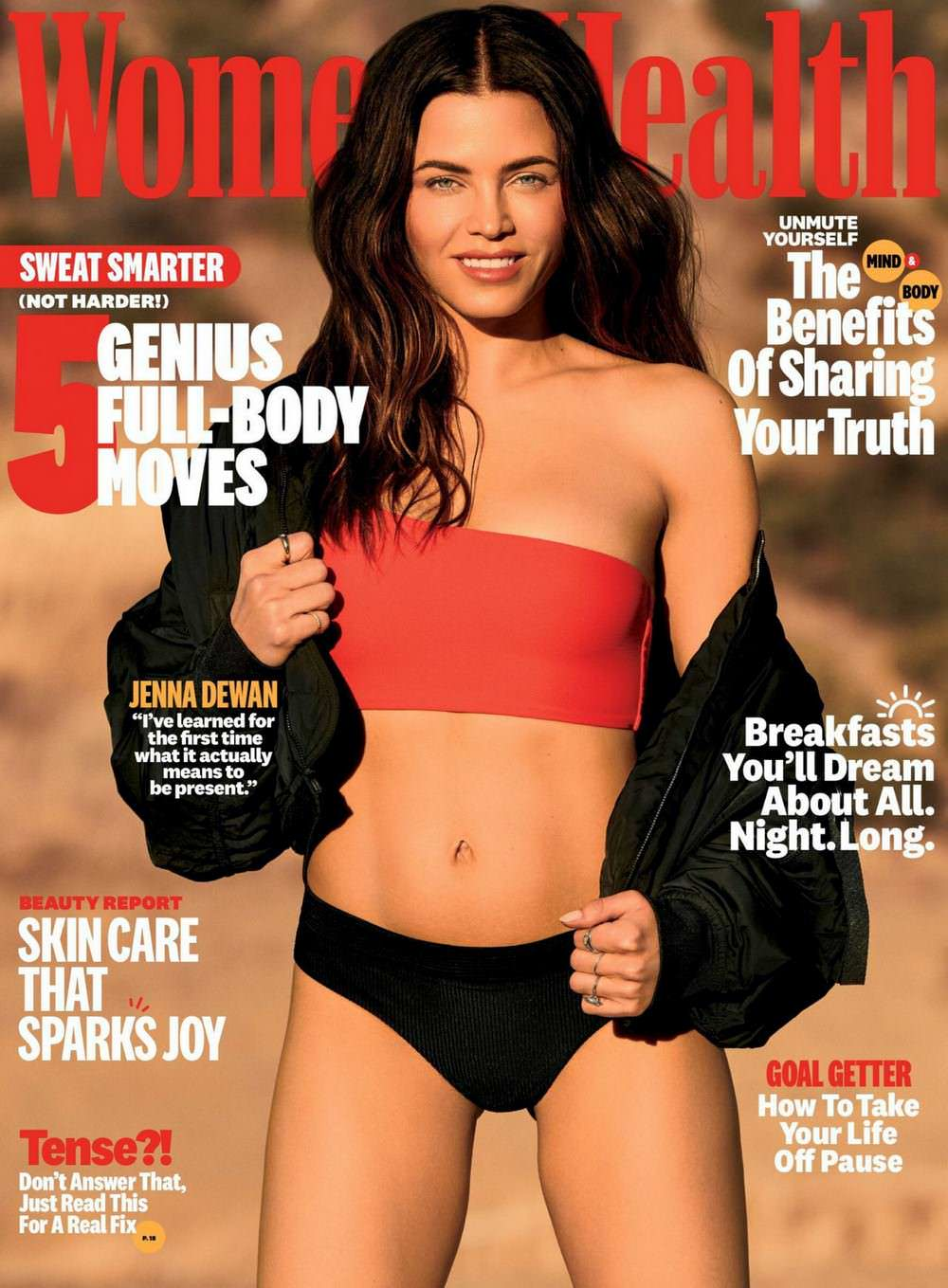 Jenna Dewan for Women's Health March 2021 Issue
