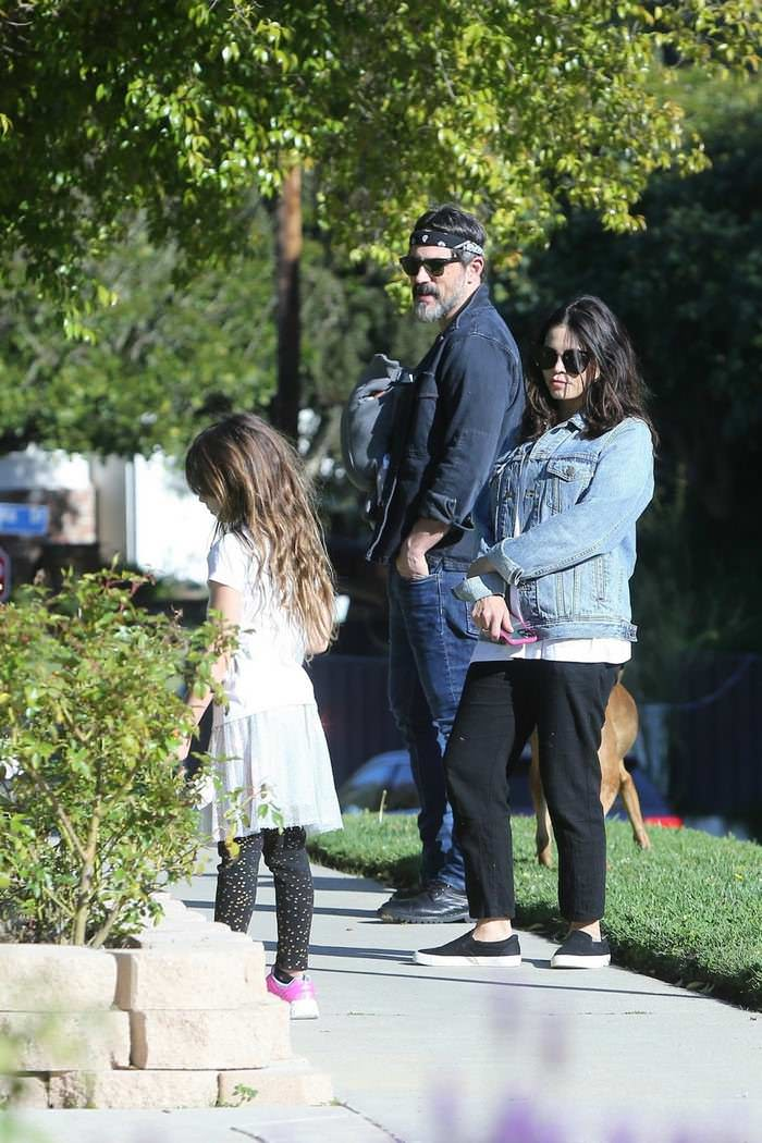 Jenna Dewan Out With Her Family In Los Angeles