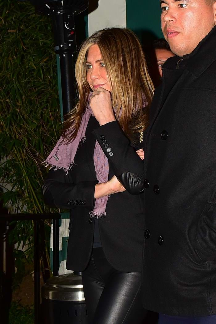 Jennifer Aniston at Sara Foster's Star-Studded Birthday Party in West Hollywood