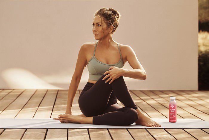 Jennifer Aniston Shows Her Toned Figure For New Vital Proteins Ad