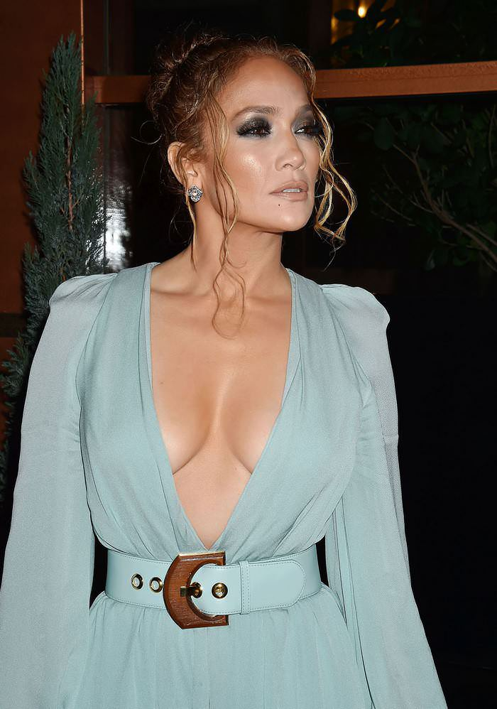 Jennifer Lopez at 2020 Los Angeles Critics Association Awards