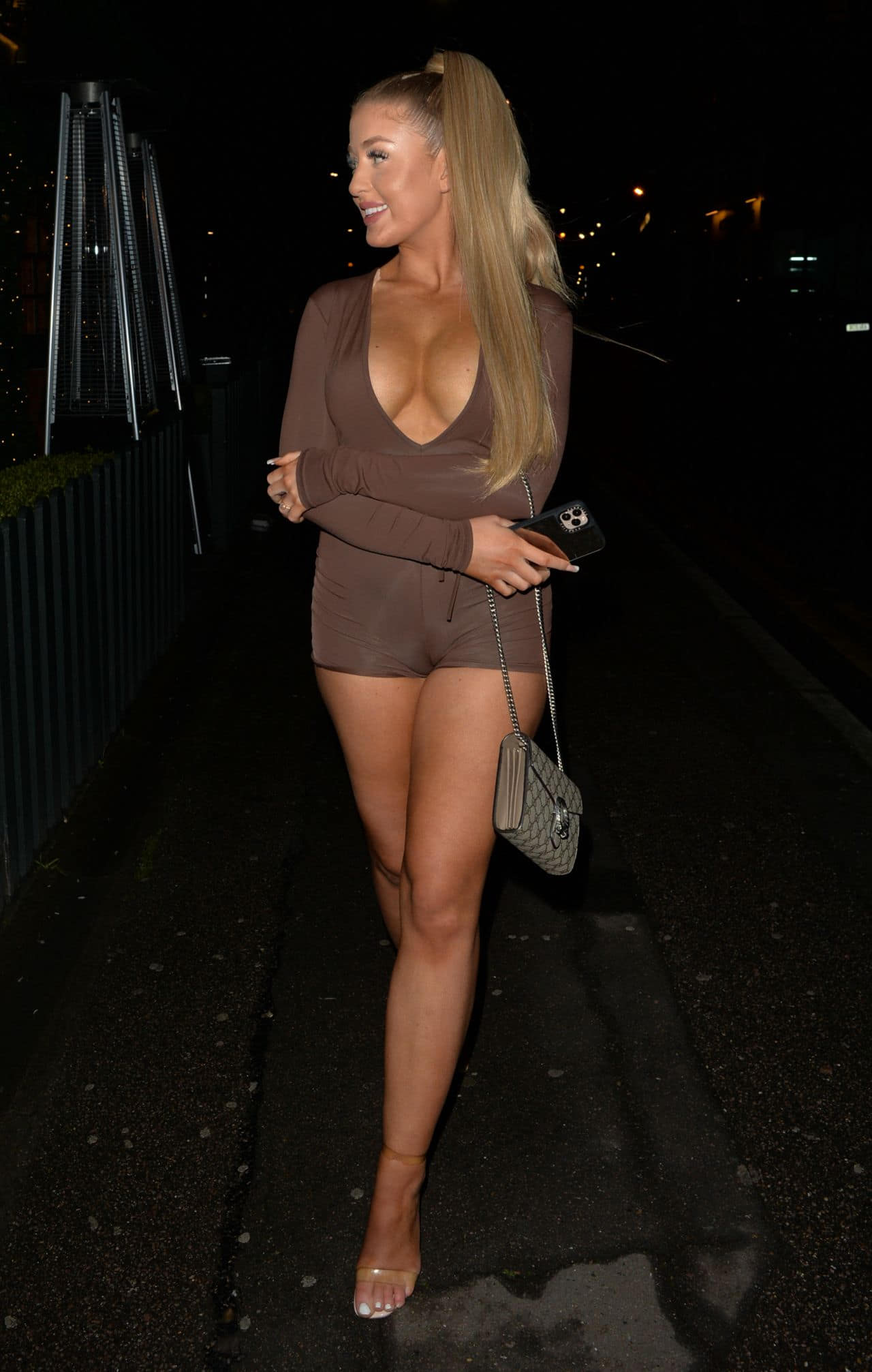 Jess Gale Looked Incredible as she Enjoyed a Night Out