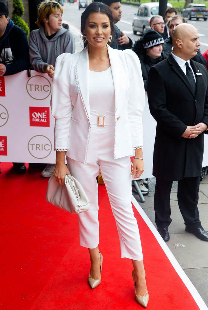 Jessica Wright at TRIC Awards 2020 at the Grosvenor House Hotel