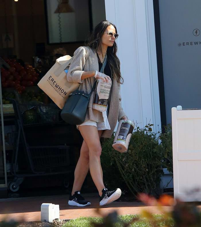 Jordana Brewster Shopping in Pacific Palisades