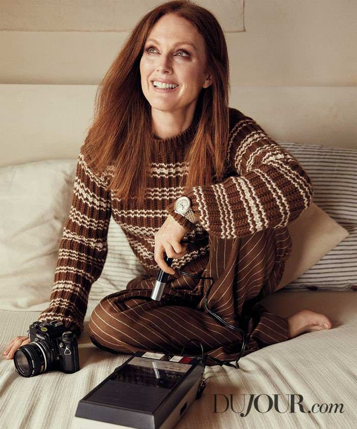 Julianne Moore Graced the Cover of 2020 DuJour Magazine