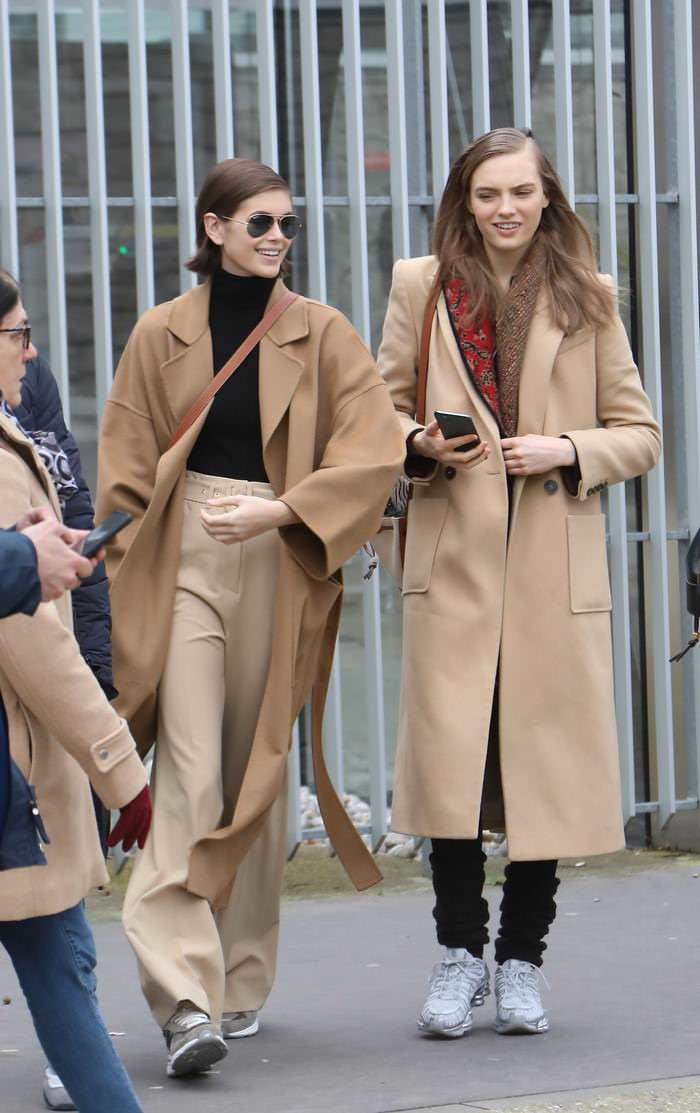 Kaia Gerber Out in Paris During PFW