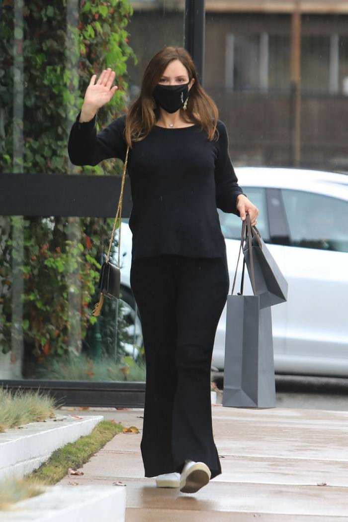 Katharine McPhee in Shopping at the John Varvatos Store in West Hollywood