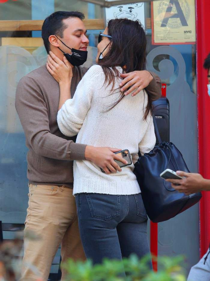 Katie Holmes Locks Lips with Chef Emilio Vitolo Jr. in NYC