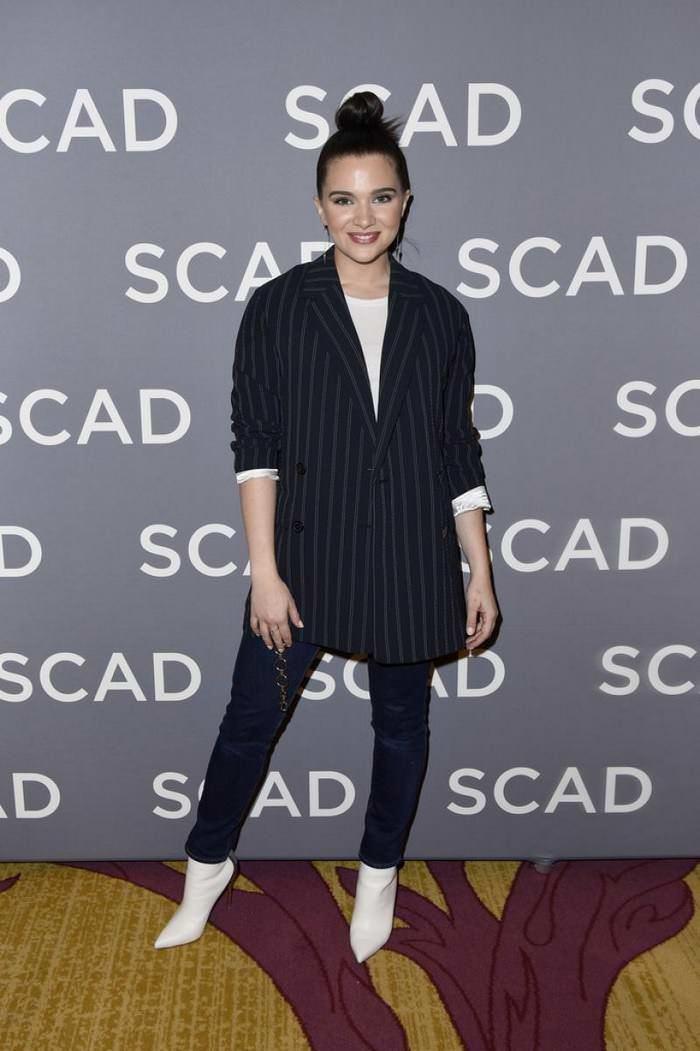 Katie Stevens at SCAD aTVfest 2020 in Atlanta