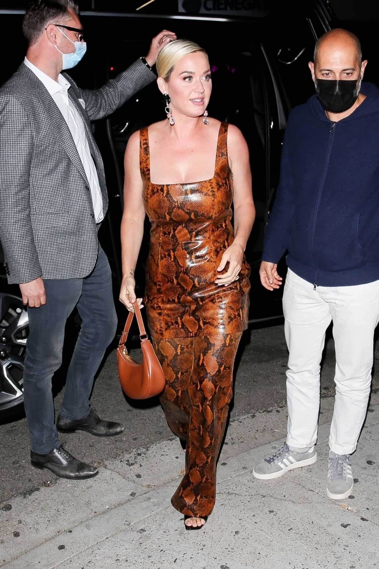 Katy Perry at Kendall Jenner's 818 Tequila Launch Party