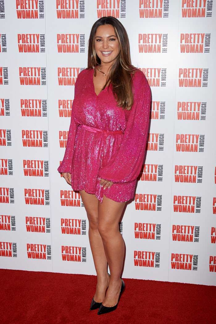 Kelly Brook at Pretty Woman: The Musical Press Night in London